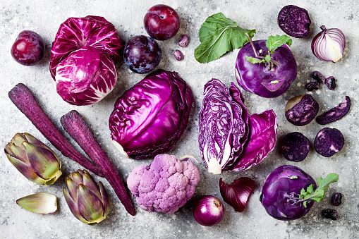 purple vegetables