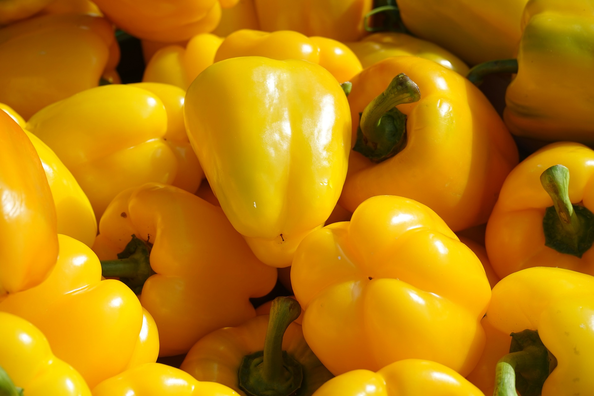 yellow vegetables